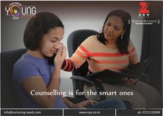 Counselling is for the smart ones !!! Many people think that if their #child needs some #counselling, then he or she is not mentally well. But it is actually opposite from the reality. The reality is far more prestigious than this. In fact a person who needs counselling is the one who possesses enough energies, but is not sure of where to divert those energies so that it improves their efficiency.