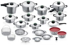 Complet System The ideal cookware set to fulfill all your cookware needs.