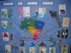 Modelos de murais - Folclore Storytelling, Preschool, Education, Kids, Internet, Popular, 30, Physical Activities For Kids, School Displays