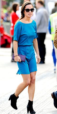 TANGLED UP IN BLUE photo   Pippa Middleton