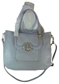 ca9ac9ffda00 Tory Burch Amanda Mercury Classic Gray Leather Hobo Bag 5% off retail