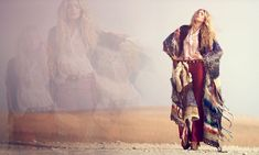 """Elsa Hosk & Marianna Santana for Free People """"Through the Decades"""" Book by David Bellemere"""