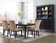 Trendy dining room t