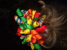 How to make a Korker Hair Bow out of ribbon