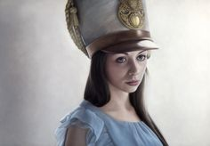 Oil paintings of British artist Mary Jane Ansell