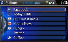 Honda LINK! 2013 Honda, New Honda, Honda Motors, Auto News, Recent Events, Latest Cars, News Website, Cloud Based, Audio System