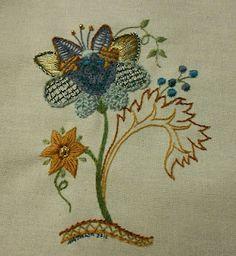 Natalia's Fine Needlework: Jacobean Embroidery Designs - A Little Treat For Myself