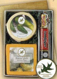 Northwoods Cheese and Landjager Gift Box