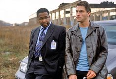 The Wire (HBO) - The Bunk and McNulty. One of the greatest detective duos ever. The Wire Tv Show, The Wire Hbo, Hbo Series, Best Series, 2pac, House Of Cards, Free Movies And Shows, Detective, Famous Philosophers