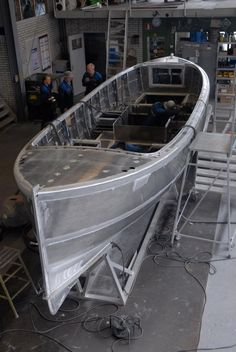Dutch Craftsmanship  fastdriving open boat aluminium yacht