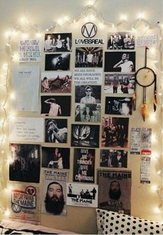 Decorate your wall with favorite singers/bands