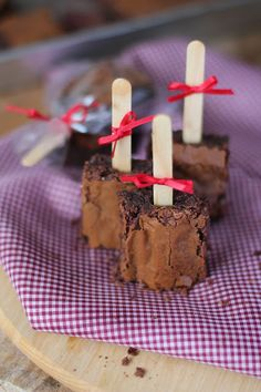 Encontrando Ideias: Receita: Brownie de Chocolate!!