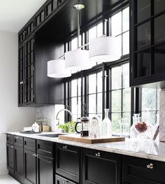 55 Best Black Kitchens Images On Pinterest Kitchen Black Black