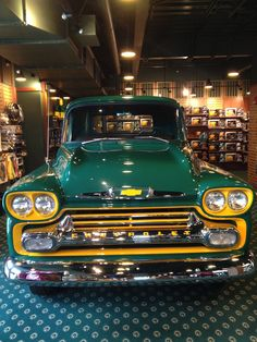 The Green Bay Packer's car!!!