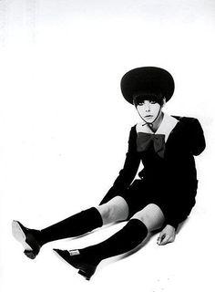 Peggy Moffitt.1960s. S)