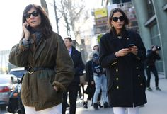 Streetstyle Tommy Ton at Paris Fashion Week Fall 2014
