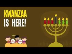Kwanzaa Songs for Kids With Lyrics | Kwanzaa is Here Song for Children - YouTube