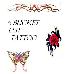 A Bucket List Tattoo in All You Need is Love. Lesbian Cougar Romance story.  It's never too late for your first tattoo—and if you're lucky, maybe a taste of the hot young tattoo artist!