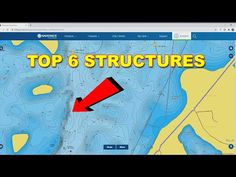 How To Use A Lake Map | Bass Fishing - YouTube