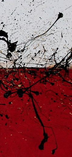 UNLEASHED - Red, White, Black, Gold Textured Large Original Contemporary Modern Abstract Painting