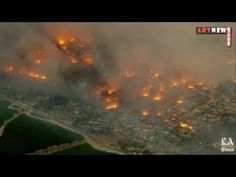 Thomas Fire In Ventura County Santa Paula Ojai California Wildfres Fire Ventura County California, Ojai California, Santa Paula, Santa Barbara, Strong, Fire, History, Nature, Youtube