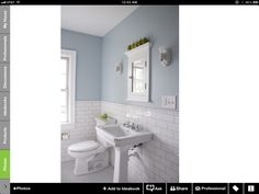Subway tile...