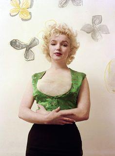 1955: ❤Marilyn Monroe ~❥~❤ by milton greene