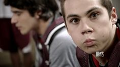 Stiles Stilinski - teen wolf - hahahah, this is a great still
