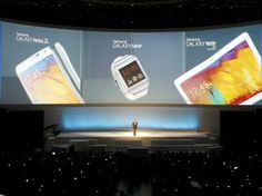 Samsung presenta el Galaxy Note 3, reloj inteligente y tableta