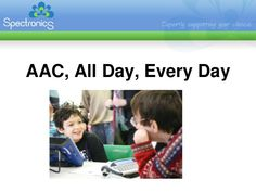 Super informative presentation on AAC from Jane Farrall.