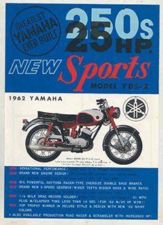 1962 Yamaha 250 YDS2 YD3 125 YA5 50 Sports Type Motorcycle US Broch for USD24.99 #Motorcycle  Like the 1962 Yamaha 250 YDS2 YD3 125 YA5 50 Sports Type Motorcycle US Broch? Get it at USD24.99!