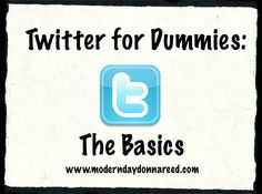 Easy-to-read Twitter tutorial