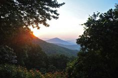 Blue Ridge Parkway Sunrise 8