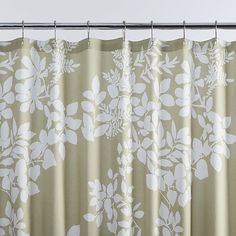 green leaves shower curtain - kate spade - bed bath and beyond ...