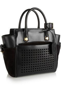 Reed Krakoff|Atlantique Bionic Mini leather tote |NET-A-PORTER.COM $1,590.00 in Black