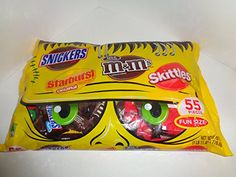 Mars Chocolate Minis Mix 55 Pieces m&m's Snickers, Starburst, Skittles. Great for passing out on Valentine's Day!
