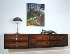 Robert Heritage rosewood sideboard, British, 1960s