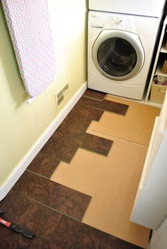 Completing Our Kitchen S Cork Floor Installation