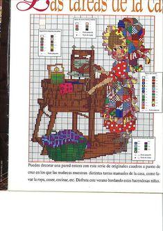 Patrones punto de cruz (solo country) (pág. 7) | Aprender manualidades es facilisimo.com