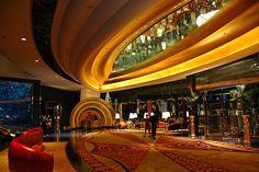 Inside the burj al arab hotel, Dubai, United arab emirates