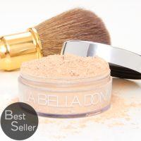 La Bella Donna - Loose Mineral Foundation $55 -- good for acne prone skin, won't clog pores