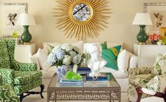 Tobi Fairley has a signature look that is fresh and simple, combining colorful, large-scale prints with classic furniture styles for a beaut...