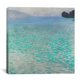 """Found it at AllModern - """"Attersee (Lake Attersee)"""" by Gustav Klimt Wall Art on Canvas"""