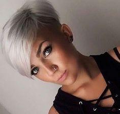 Short Hairstyles Dark Hair 2017 - 1