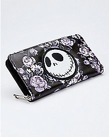 Jack Skelington and Beauty and the Beast Zipper pouch