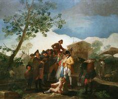 El ciego de la guitarra. Francisco de Goya y Lucientes. 1778. Localización: Museo Nacional del Prado (Madrid) https://painthealth.wordpress.com/2015/11/12/el-ciego-de-la-guitarra/