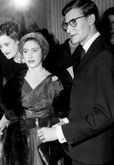 H.R.H. Princess Margaret of Great Britain, later Countess of Snowdon, and Yves Saint Laurent