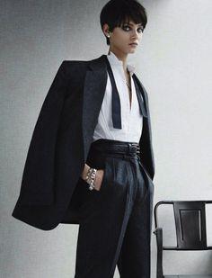 Anna Selezneva by Giampaolo Sgura for Vogue Germany November 2013