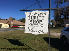 St. Marks Thrift Store is only open on Saturdays #Ocala #thrifting