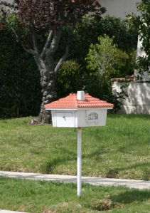 Nice example of a house-type mailbox